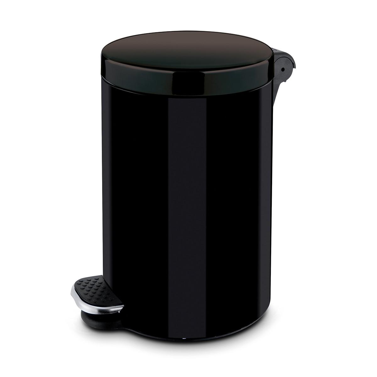 Κάδος Απορριμάτων (43×29) Rotho 30Lit 05369 Black 74209
