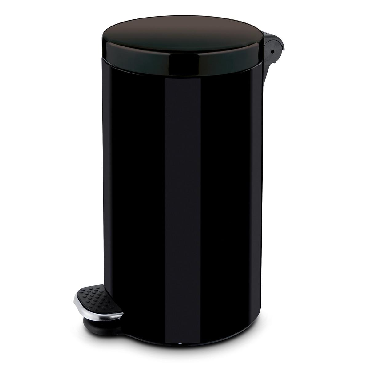 Κάδος Απορριμάτων (64×29) Rotho 30Lit 05372 Black 74211