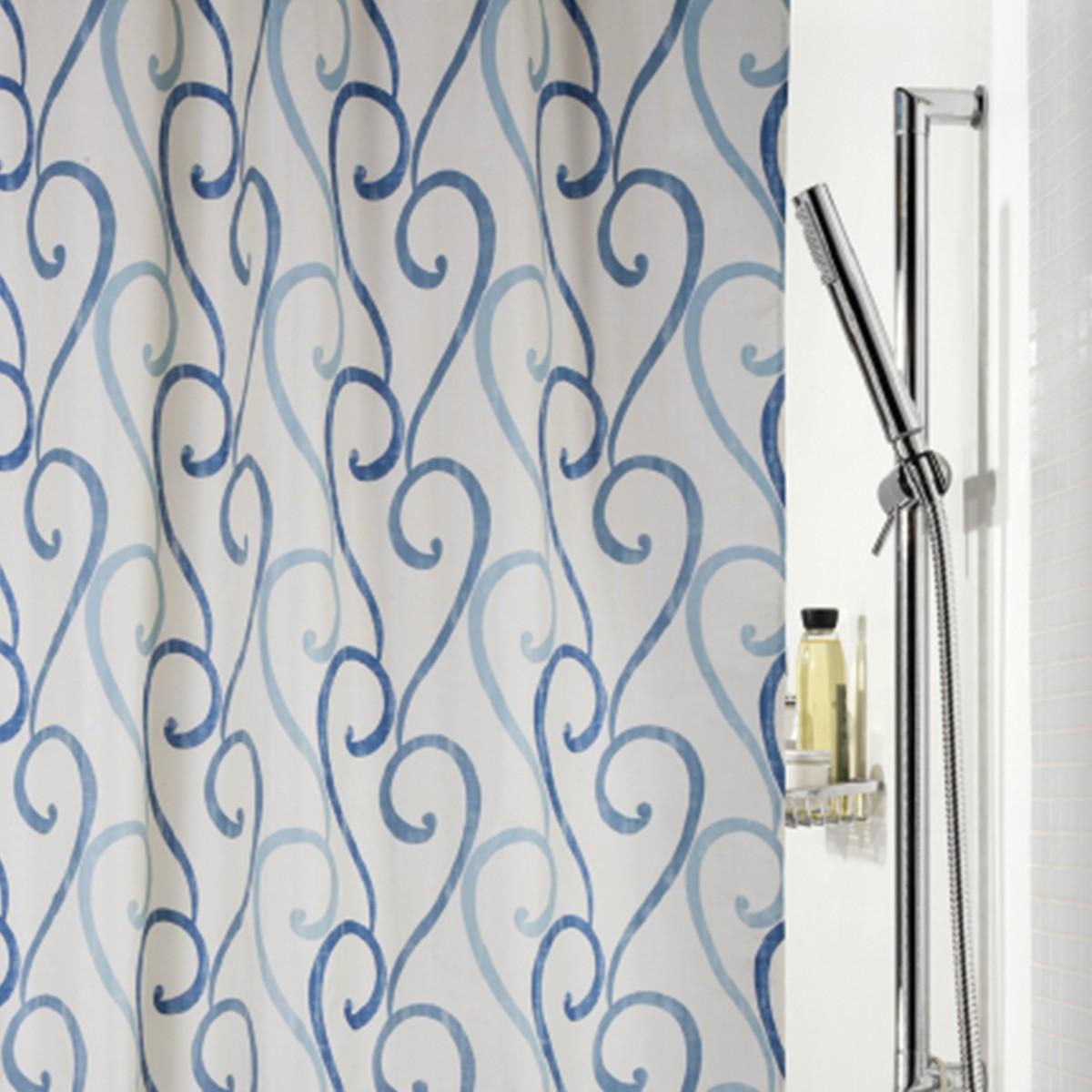 Κουρτίνα Μπάνιου (180x200) Spirella Rimini Blue