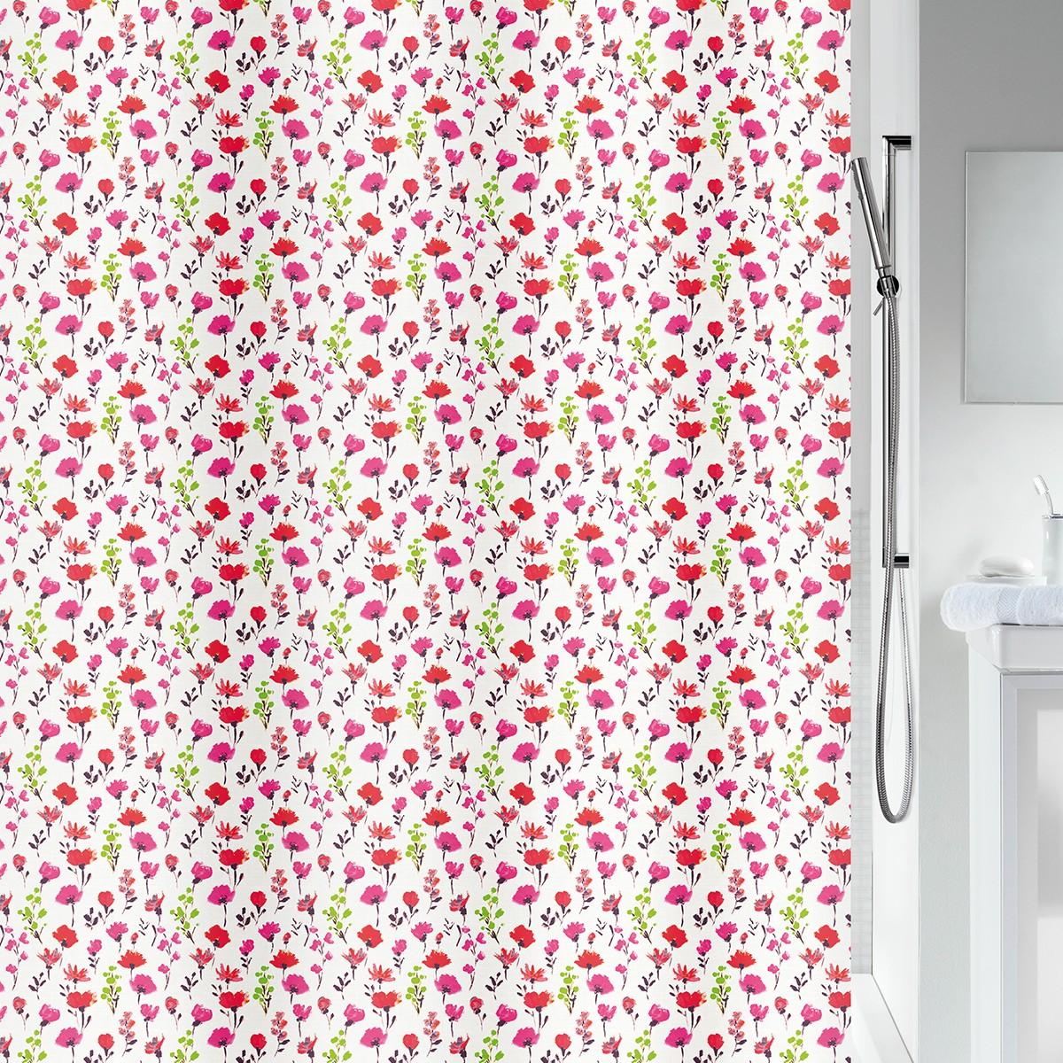 Κουρτίνα Μπάνιου (180×200) Spirella Mille Fleurs