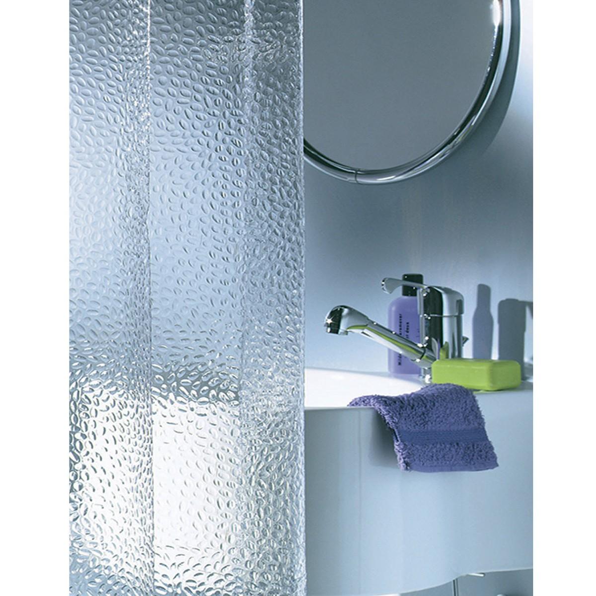 Κουρτίνα Μπάνιου Πλαστική (180×200) SealSkin Crystal Transparent
