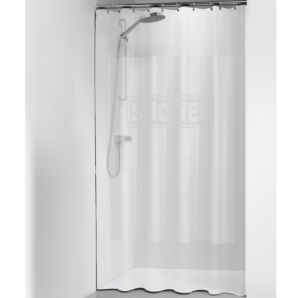 Κουρτίνα Μπάνιου Πλαστική (180x200) SealSkin Shower Transparent