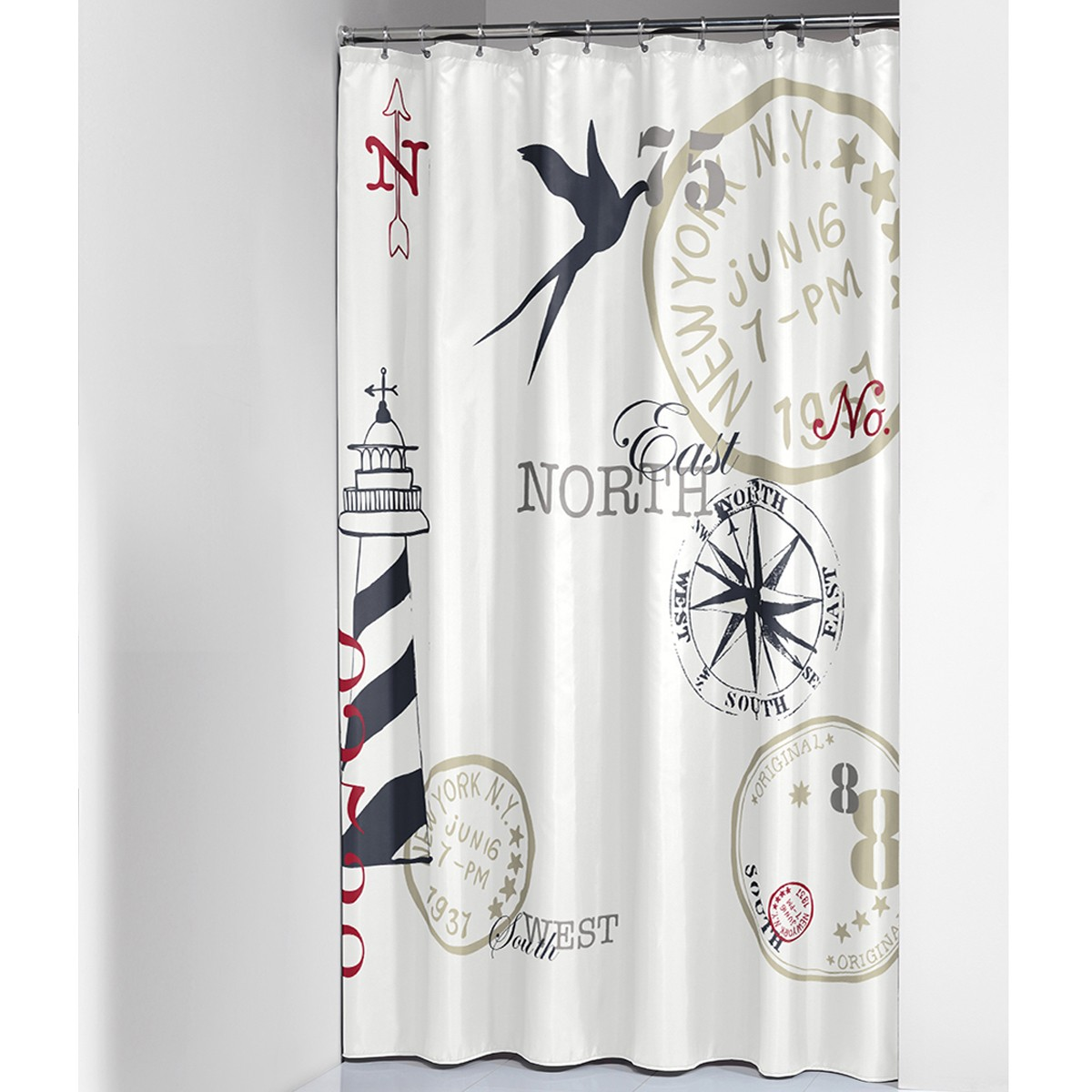 Κουρτίνα Μπάνιου (180×200) SealSkin Faro