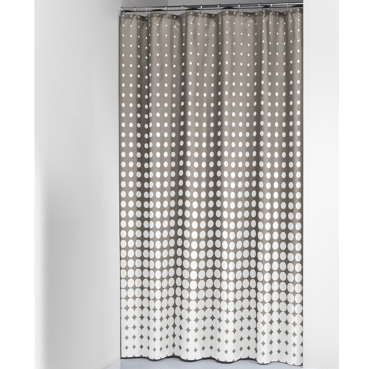 Κουρτίνα Μπάνιου (180x200) SealSkin Speckles Taupe