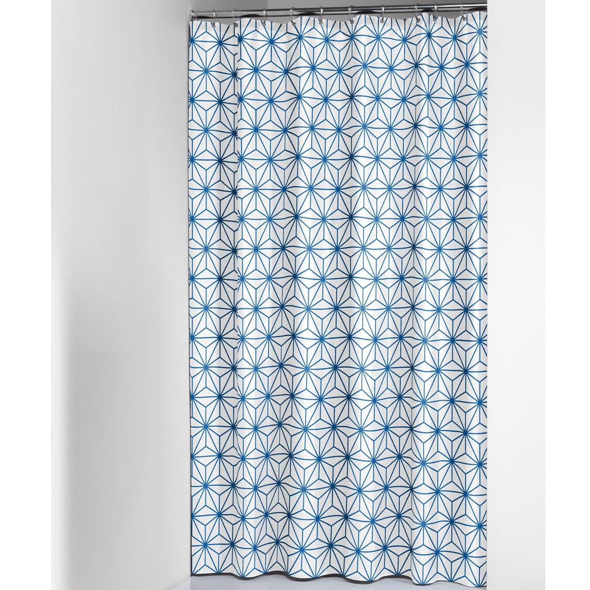 Κουρτίνα Μπάνιου (180x200) SealSkin Triangles