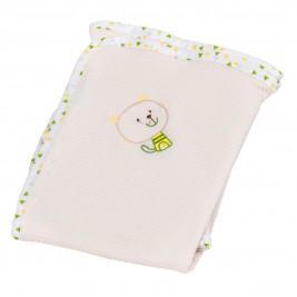 Κουβέρτα Πικέ Αγκαλιάς Κόσμος Του Μωρού Home 0315 Εκρού
