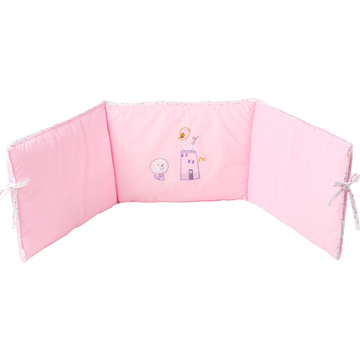 Πάντα Λίκνου Κόσμος Του Μωρού Home 8930 Ροζ