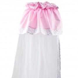 Κουνουπιέρα Κούνιας Κόσμος Του Μωρού 7920 Home Ροζ