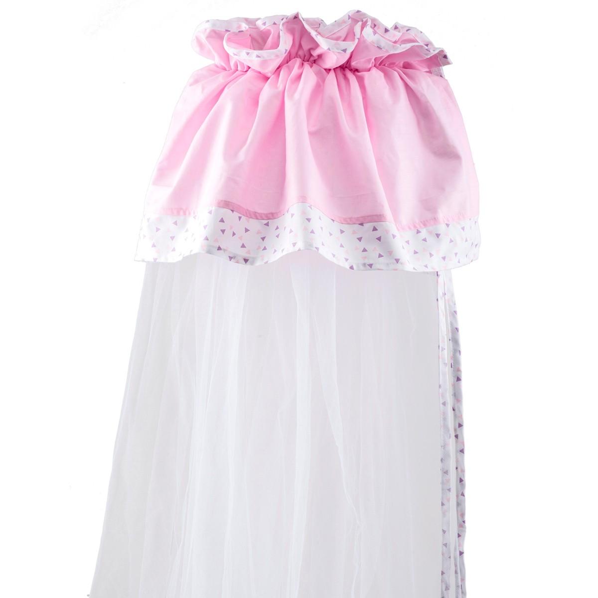 Κουνουπιέρα Λίκνου Κόσμος Του Μωρού Home 8920 Ροζ