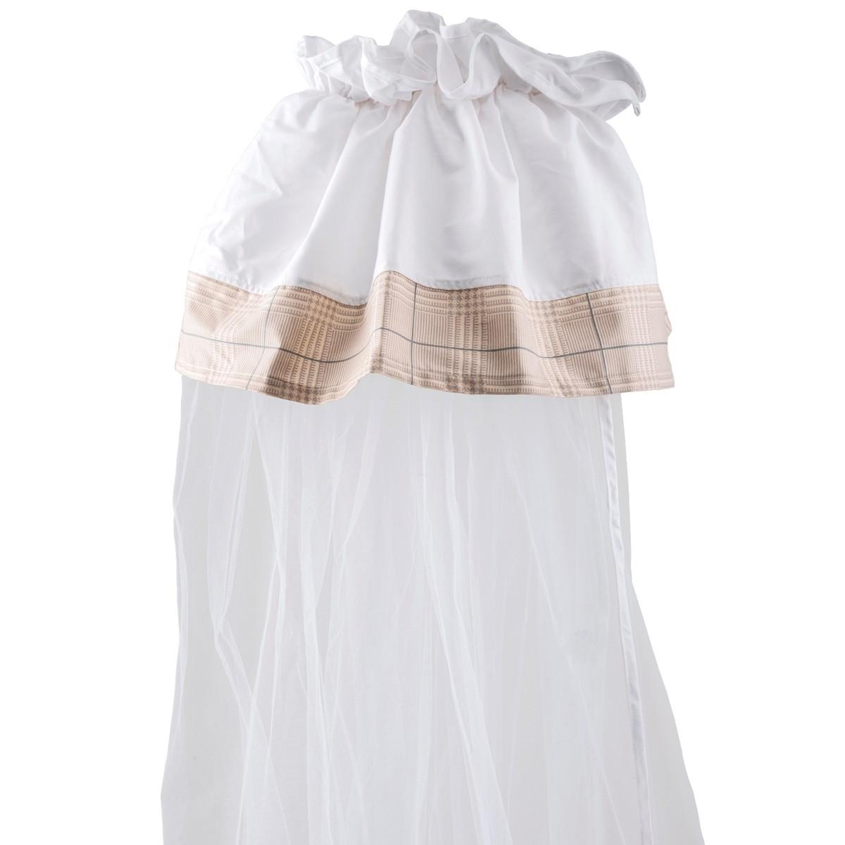 Κουνουπιέρα Λίκνου Κόσμος Του Μωρού 0882 Hug Μπεζ