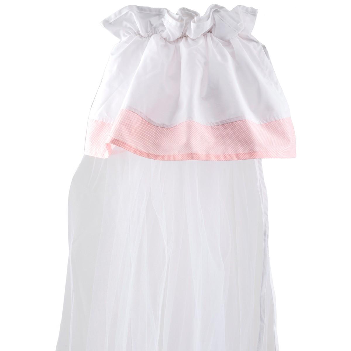 Κουνουπιέρα Λίκνου Κόσμος Του Μωρού 0882 Countryside Ροζ