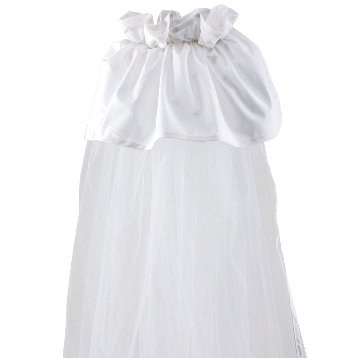 Κουνουπιέρα Λίκνου Κόσμος Του Μωρού Μονόχρωμη 0872 Λευκό