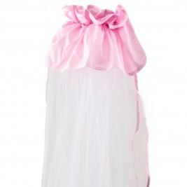 Κουνουπιέρα Λίκνου Κόσμος Του Μωρού 0872 Μονόχρωμη Ροζ