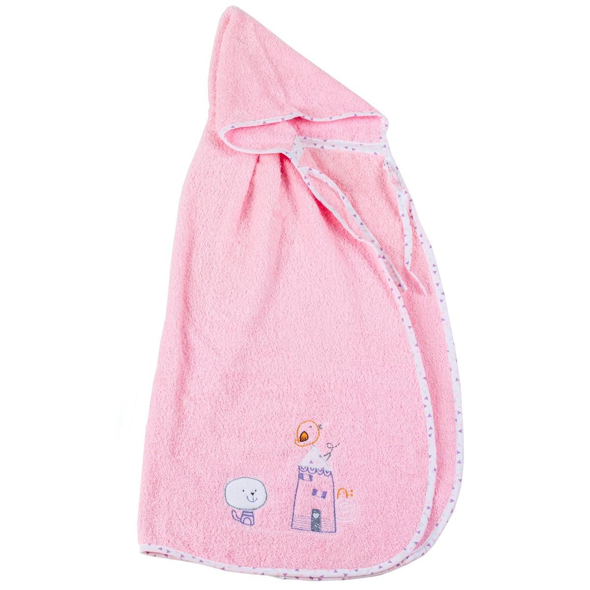 Βρεφική Κάπα Κόσμος Του Μωρού Home 0490 Ροζ