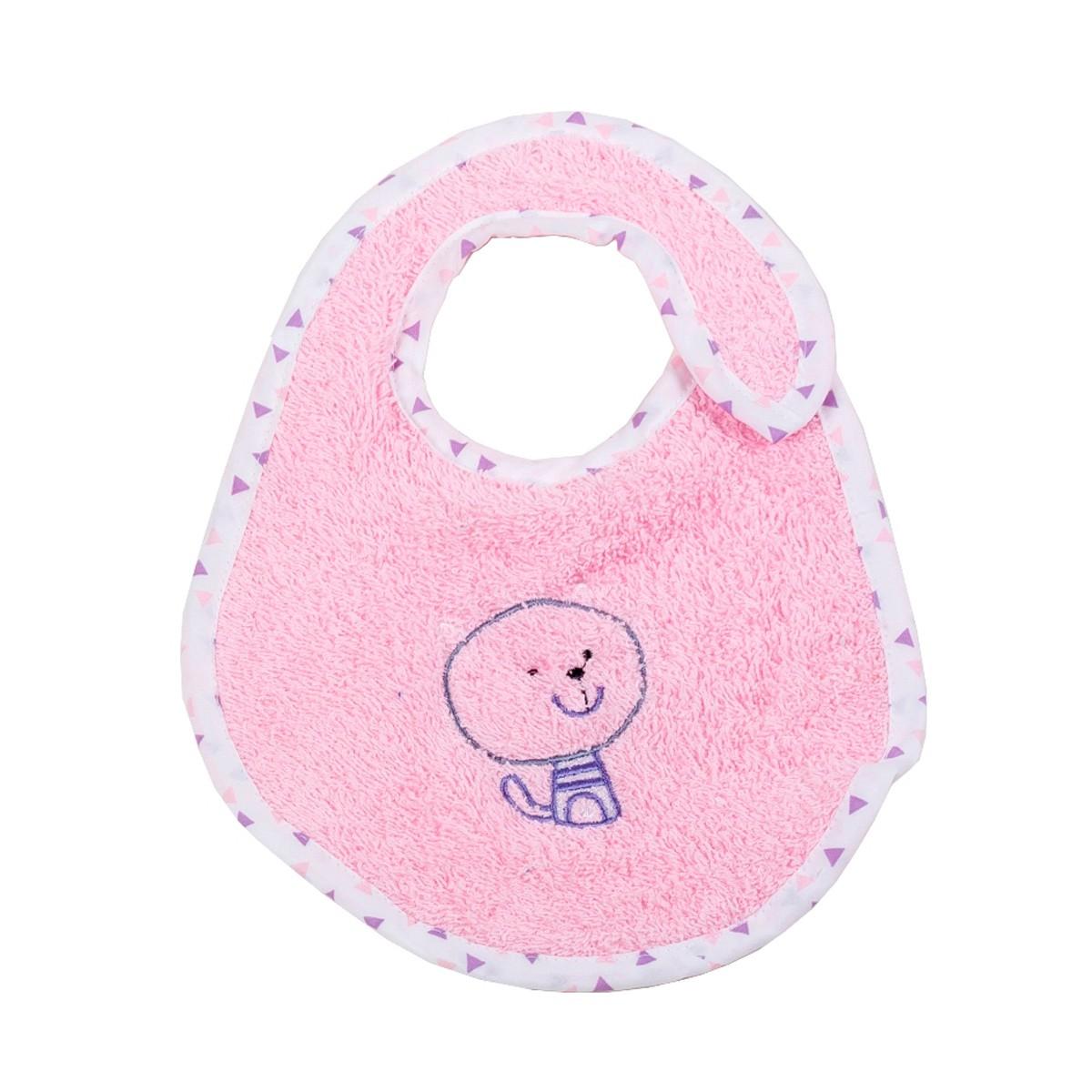 Σαλιάρα Μικρή Κόσμος Του Μωρού Home 0607 Ροζ