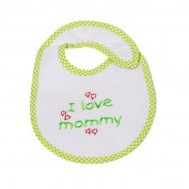 Σαλιάρα Μικρή Κόσμος Του Μωρού 0606 Mommy Λαχανί