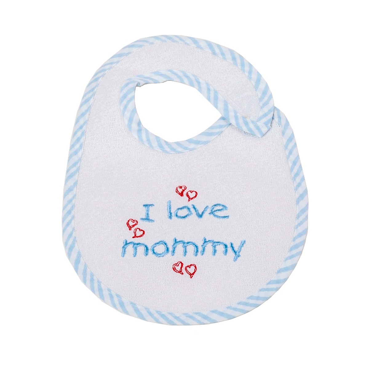 Σαλιάρα Μικρή Κόσμος Του Μωρού 0606 Mommy Σιέλ 74650
