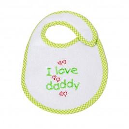 Σαλιάρα Μικρή Κόσμος Του Μωρού 0606 Daddy Λαχανί