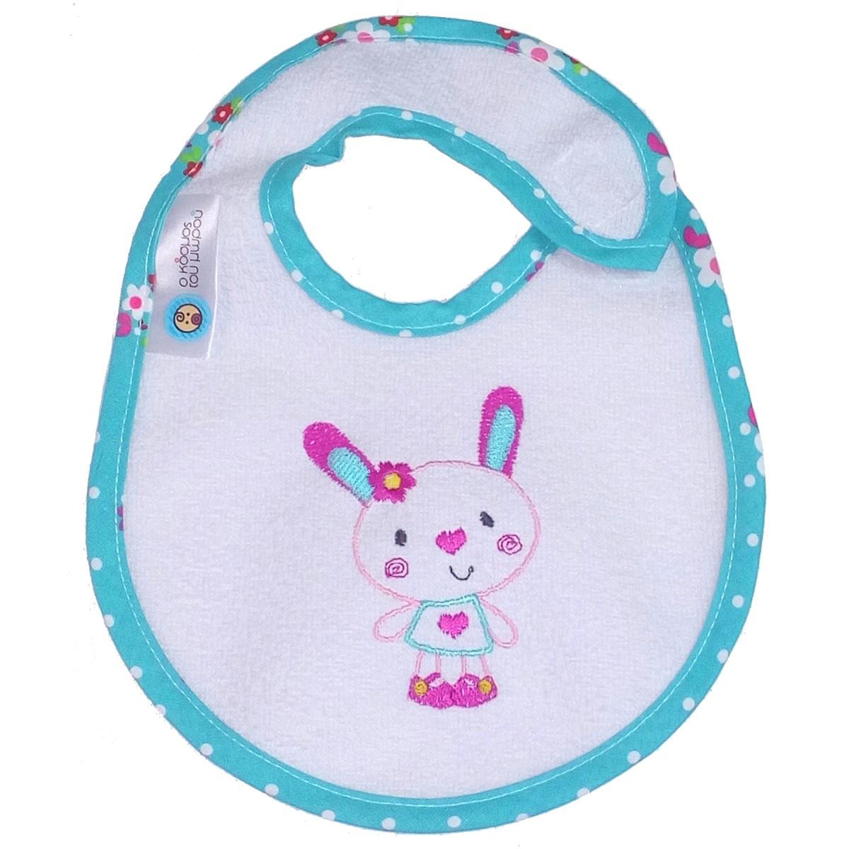 Σαλιάρα Μεσαία Κόσμος Του Μωρού Rabbit 0609