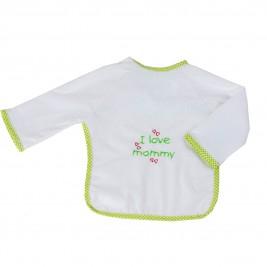 Σαλιάρα Με Μανίκια Κόσμος Του Μωρού 0610 Mommy Λαχανί