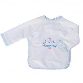 Σαλιάρα Με Μανίκια Κόσμος Του Μωρού 0610 Mommy Σιέλ