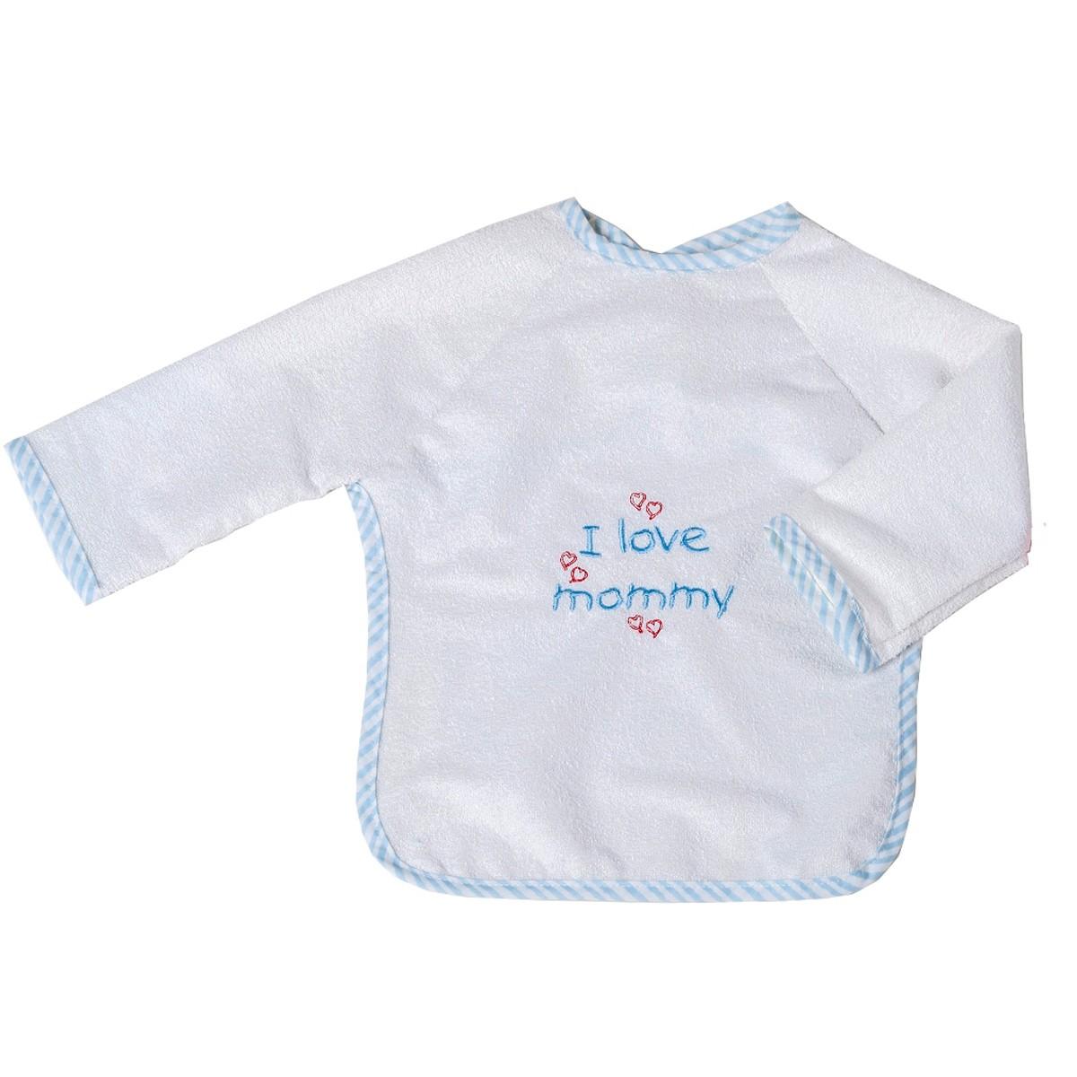 Σαλιάρα Με Μανίκια Κόσμος Του Μωρού Mommy 0610 Σιέλ