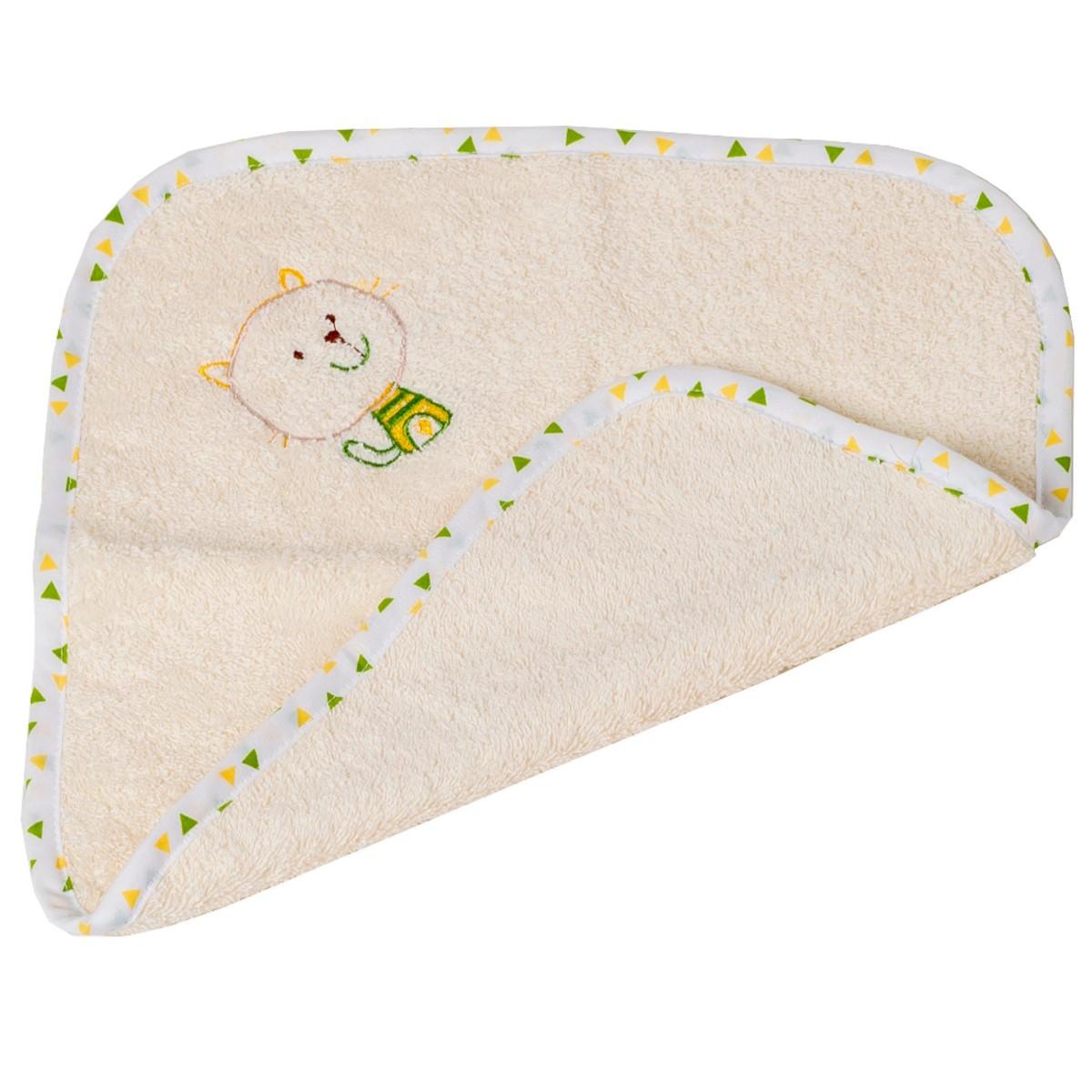 Βρεφική Λαβέτα (30×30) Κόσμος Του Μωρού Home 0637 Εκρού 74670