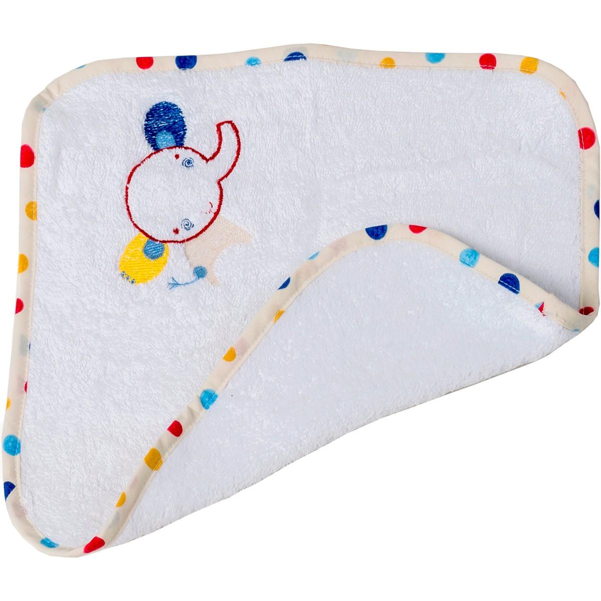 Βρεφική Λαβέτα (30x30) Κόσμος Του Μωρού Elephant 0637