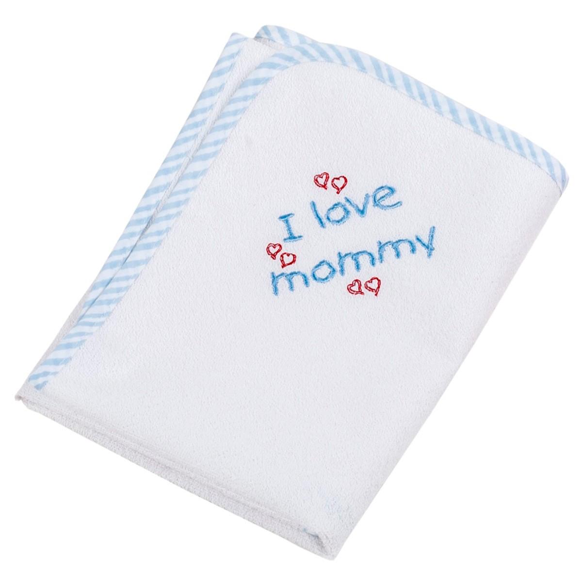 Βρεφικό Σελτεδάκι (60×80) Κόσμος Του Μωρού Mommy 0625 Σιέλ
