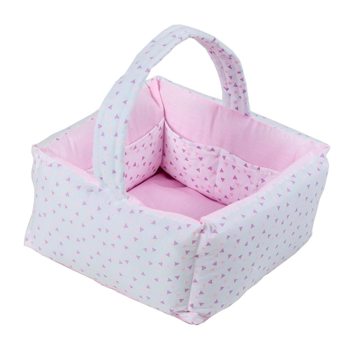 Καλαθάκι Καλλυντικών Κόσμος Του Μωρού Home 0794 Ροζ