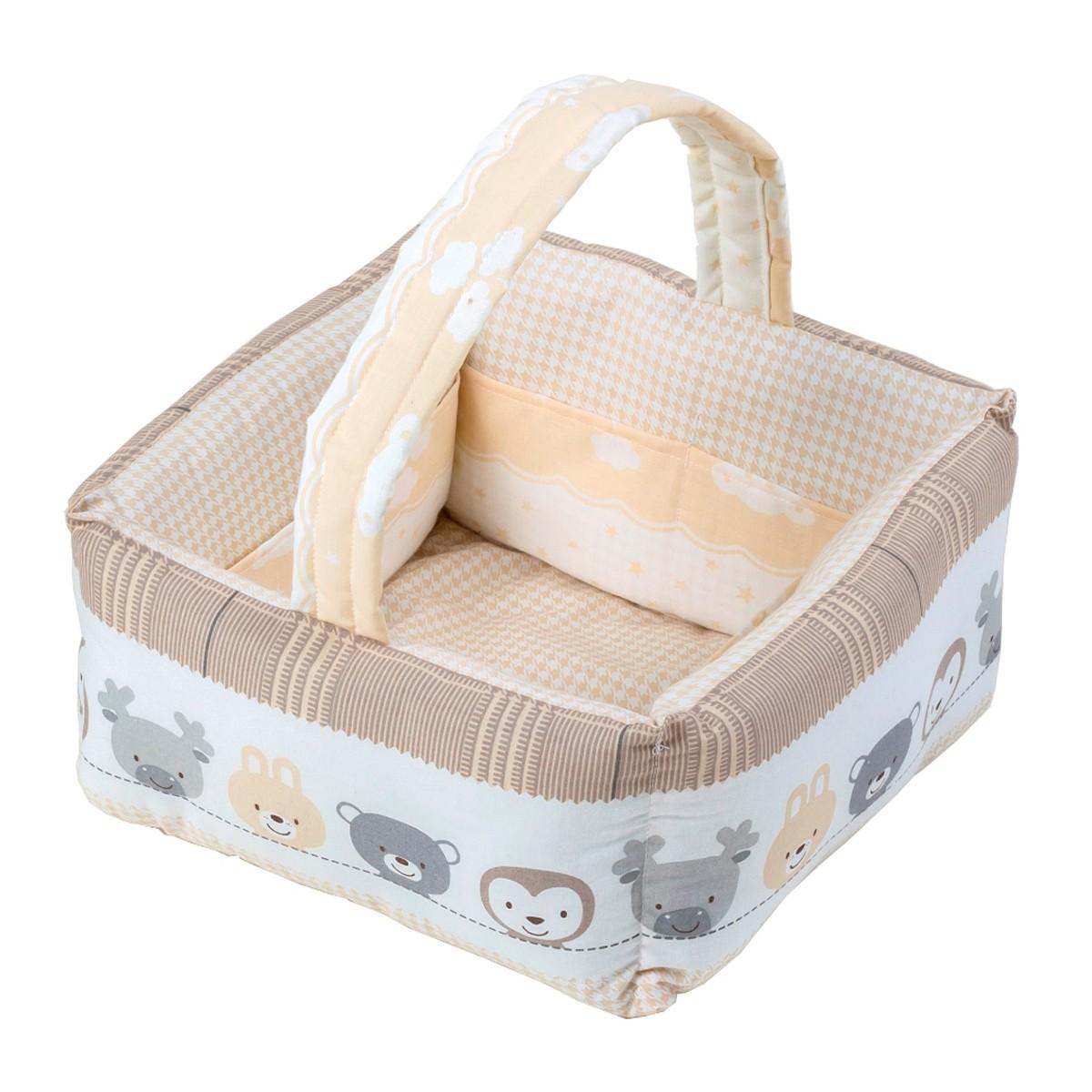 Καλαθάκι Καλλυντικών Κόσμος Του Μωρού 0684 Hug Μπεζ home   βρεφικά   νεσεσέρ βρεφικά