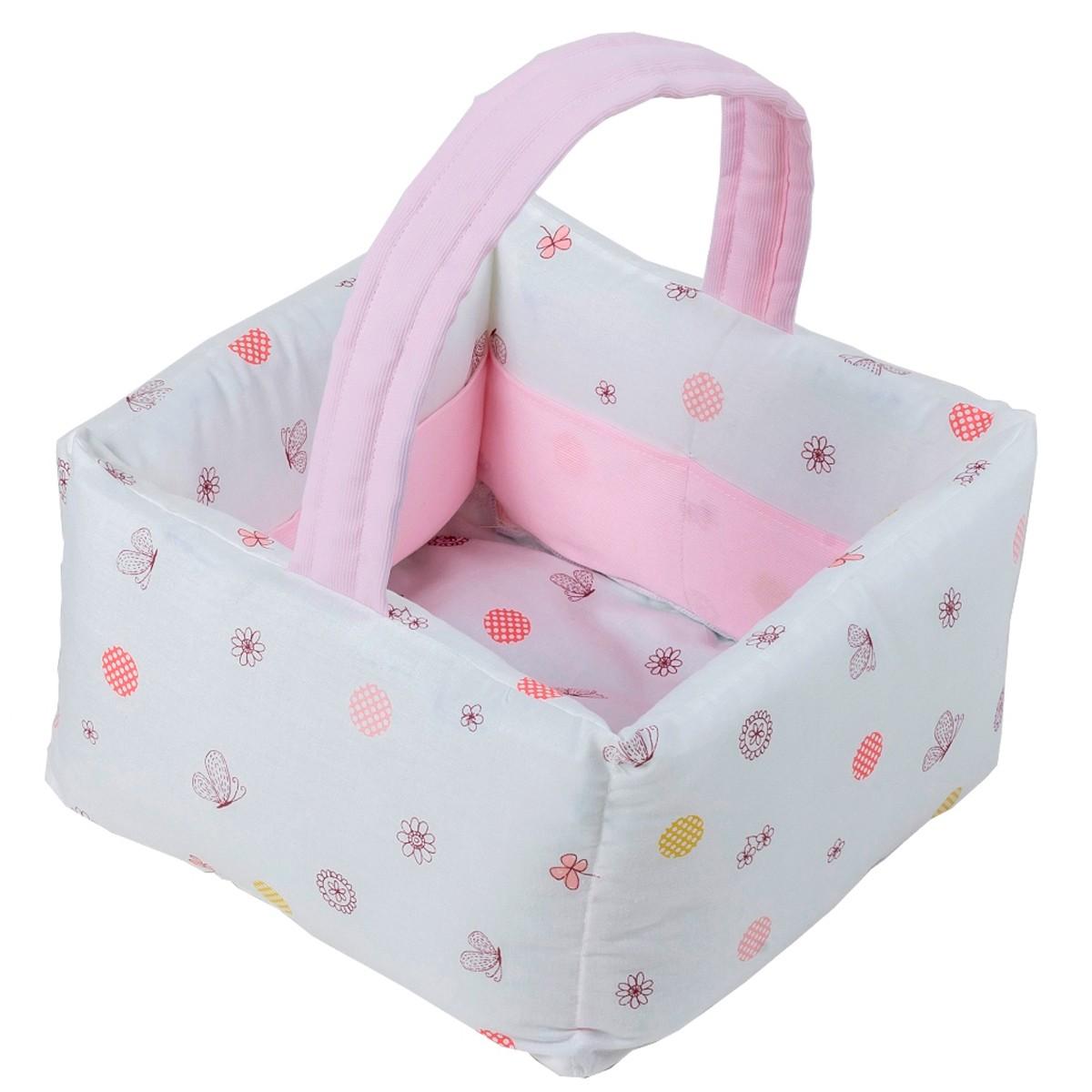 Καλαθάκι Καλλυντικών Κόσμος Του Μωρού Countryside 0684 Ροζ
