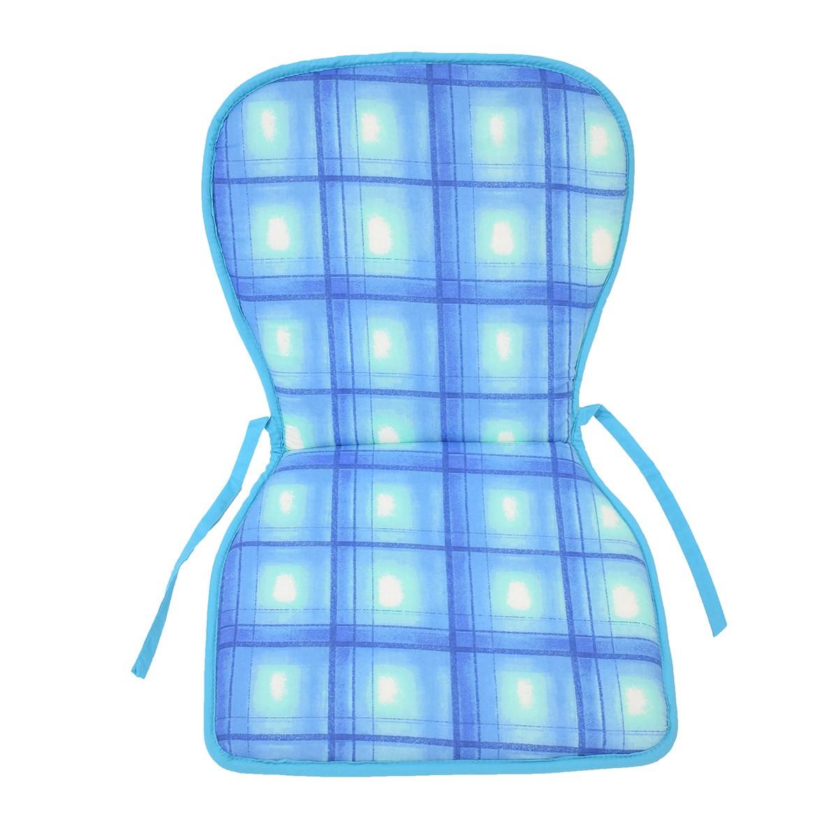 Μαξιλάρι Καρέκλας Κιθάρα 2 Όψεων Fratoni DobleCara Blue