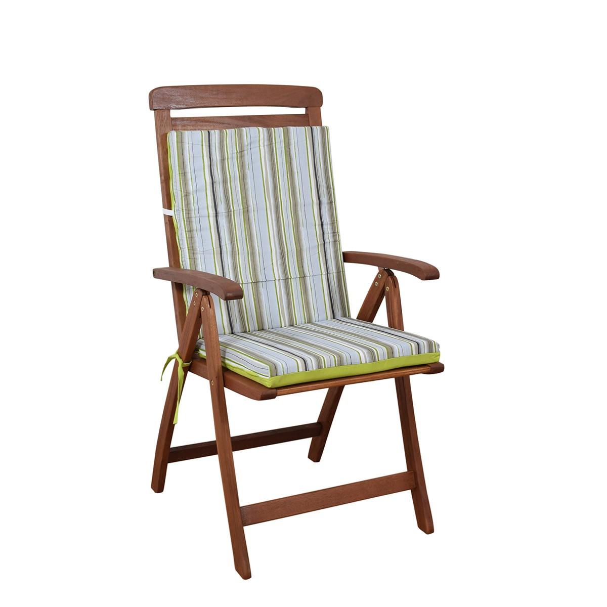Μαξιλάρι Καρέκλας Πλάτη/Φερμουάρ 2 Όψεων Fratoni DobleCara Green
