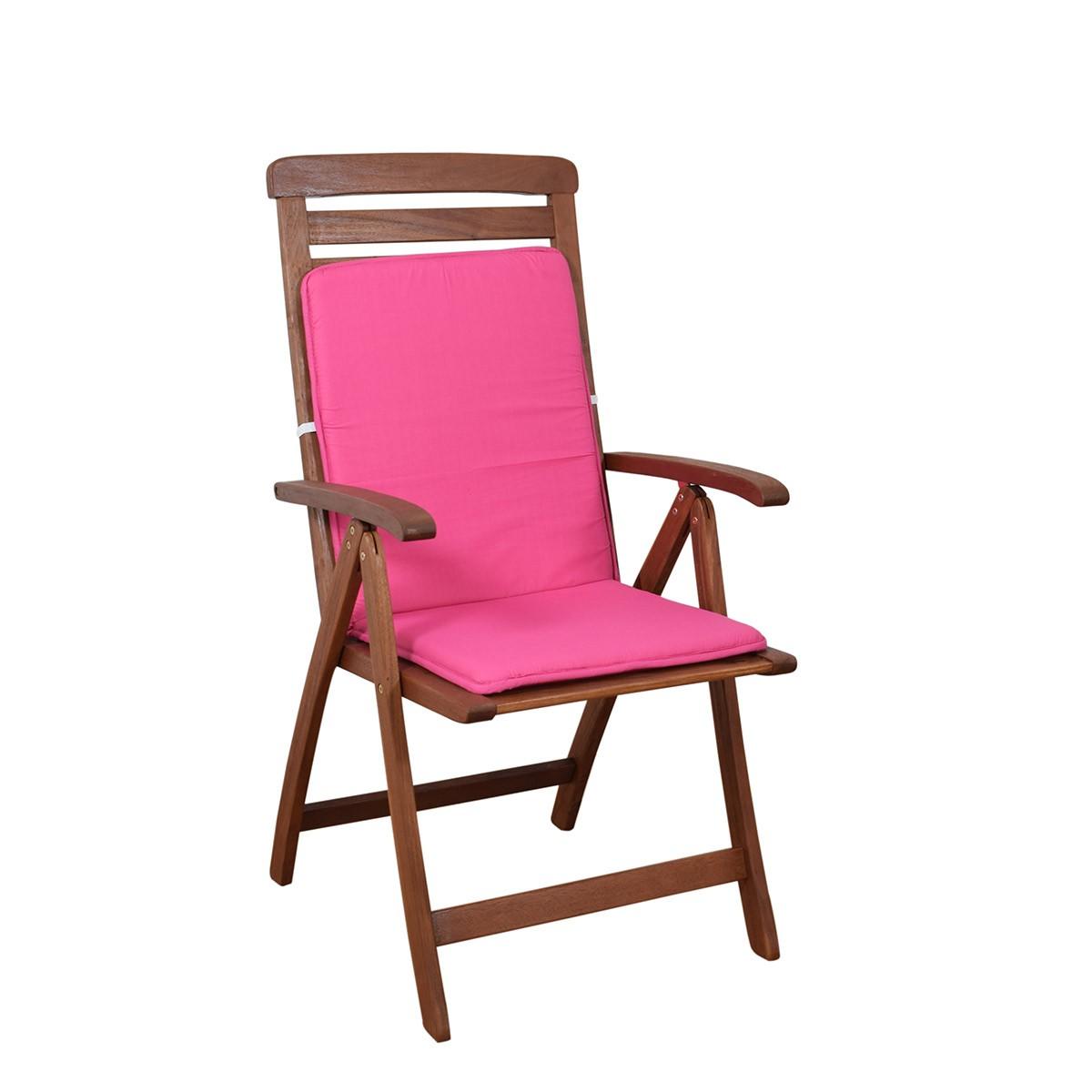 Μαξιλάρι Καρέκλας Πλάτη/Ρέλι Fratoni Solid Fuchsia