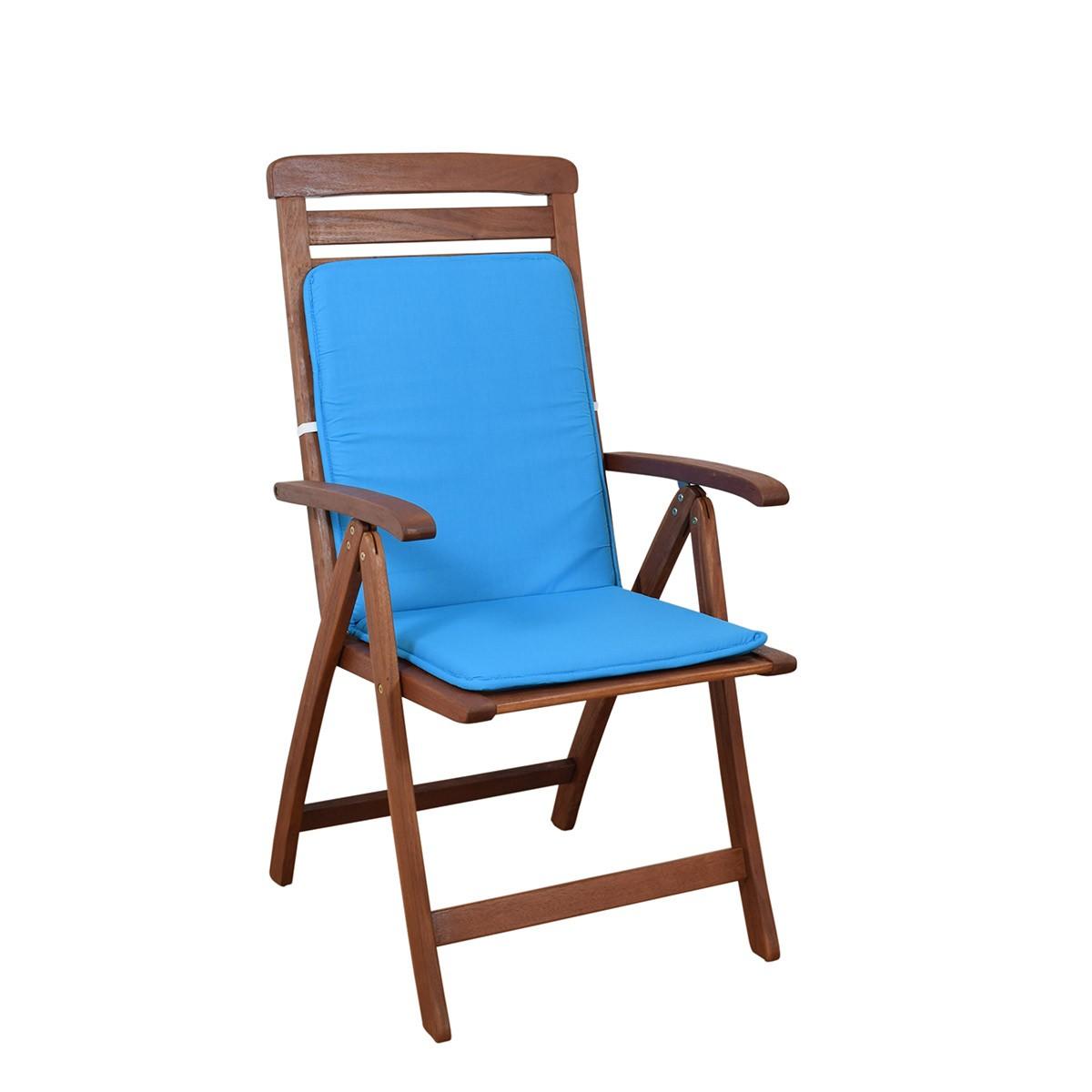 Μαξιλάρι Καρέκλας Πλάτη/Ρέλι Fratoni Solid Turquoise