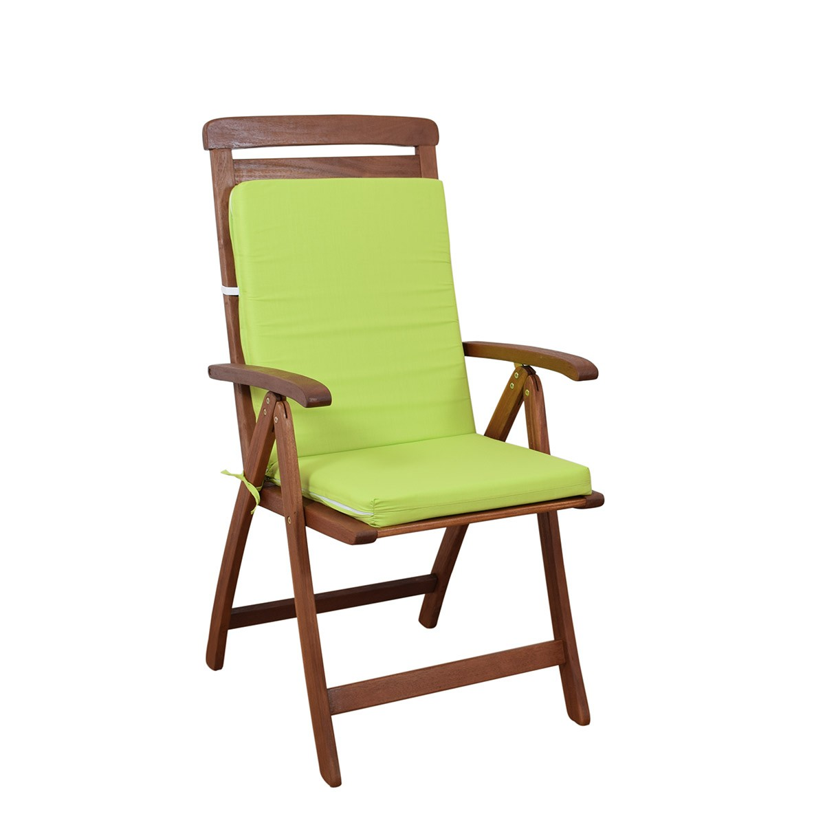 Μαξιλάρι Καρέκλας Πλάτη/Φερμουάρ Fratoni Solid Green