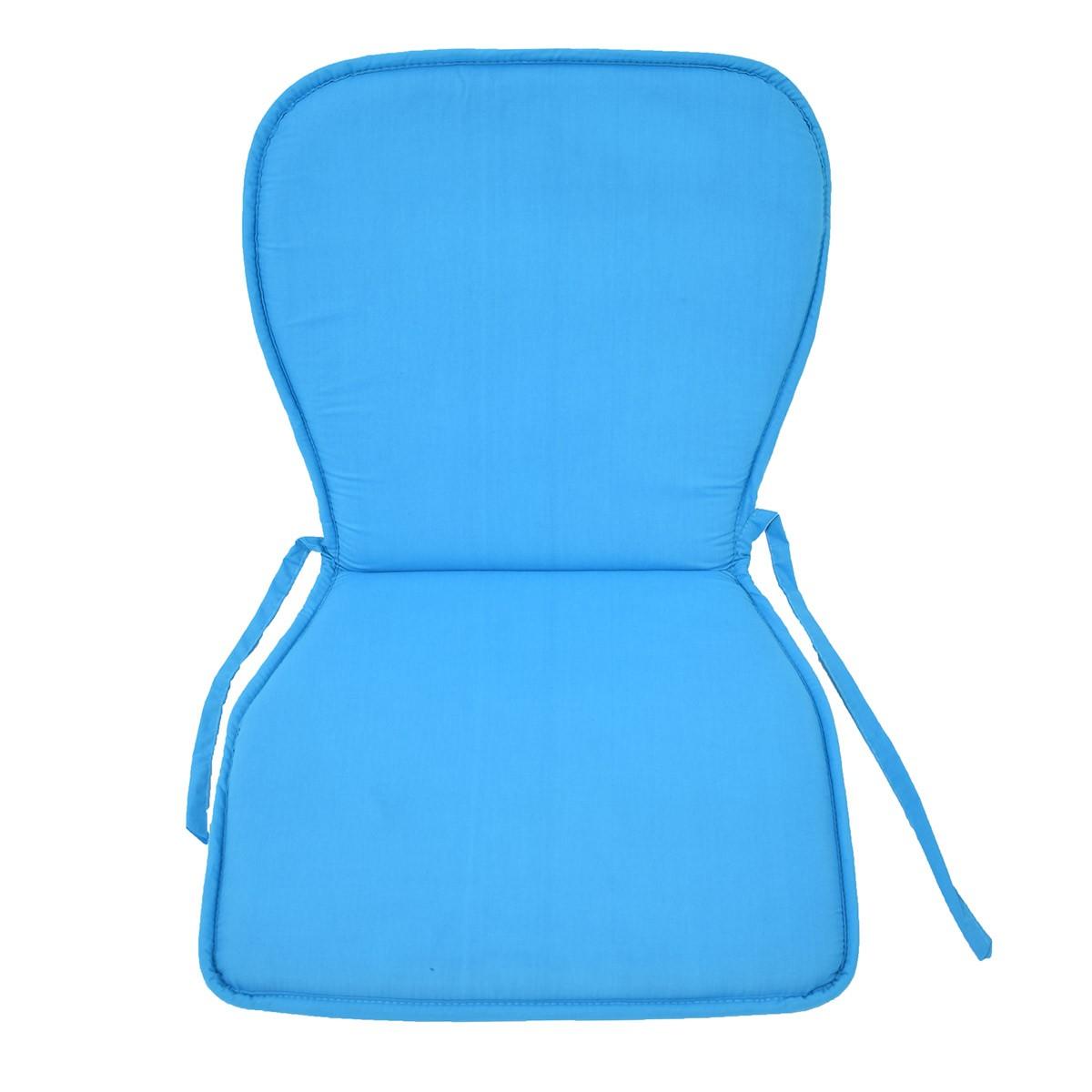 Μαξιλάρι Καρέκλας Κιθάρα Fratoni Solid Turquoise