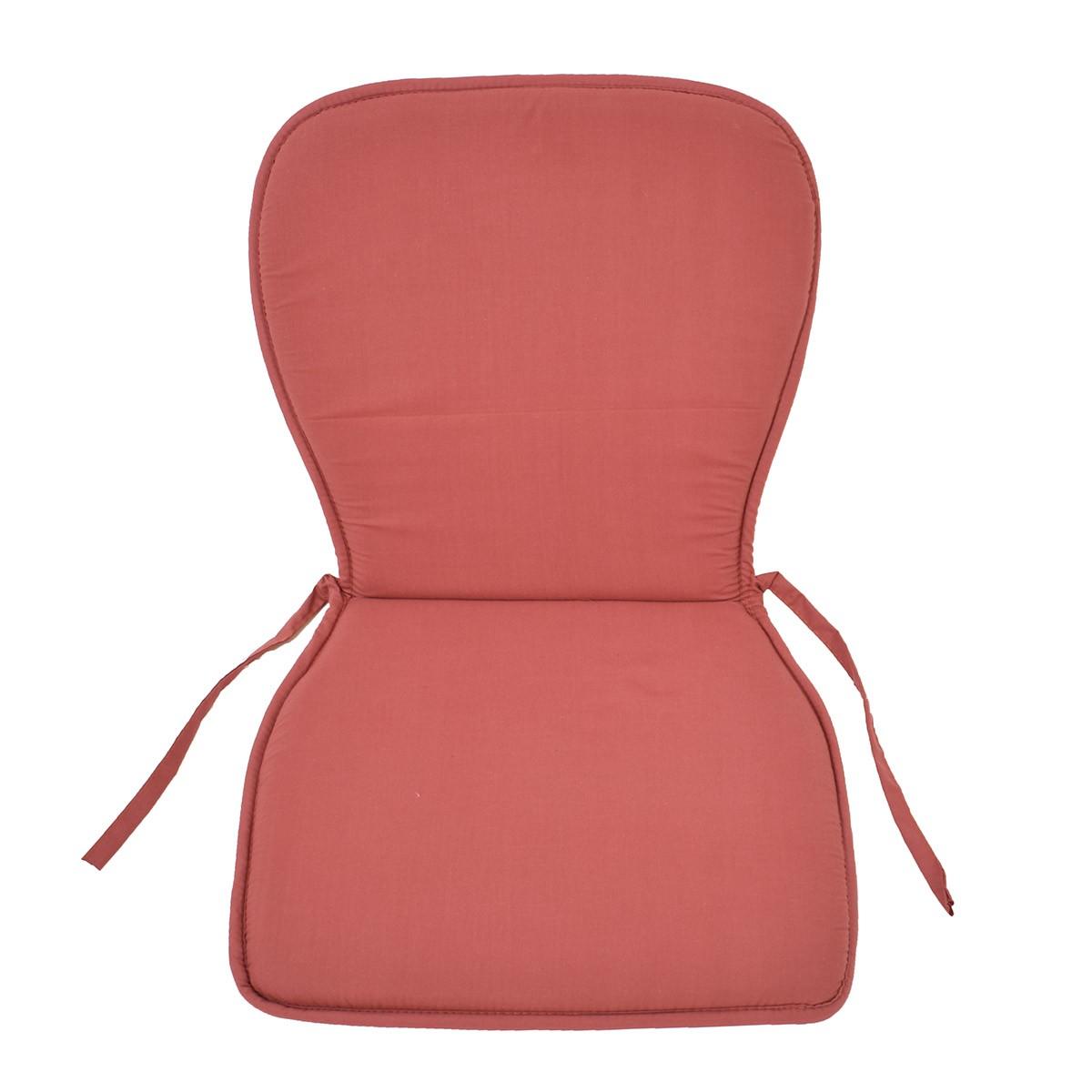 Μαξιλάρι Καρέκλας Κιθάρα Fratoni Solid Terracota