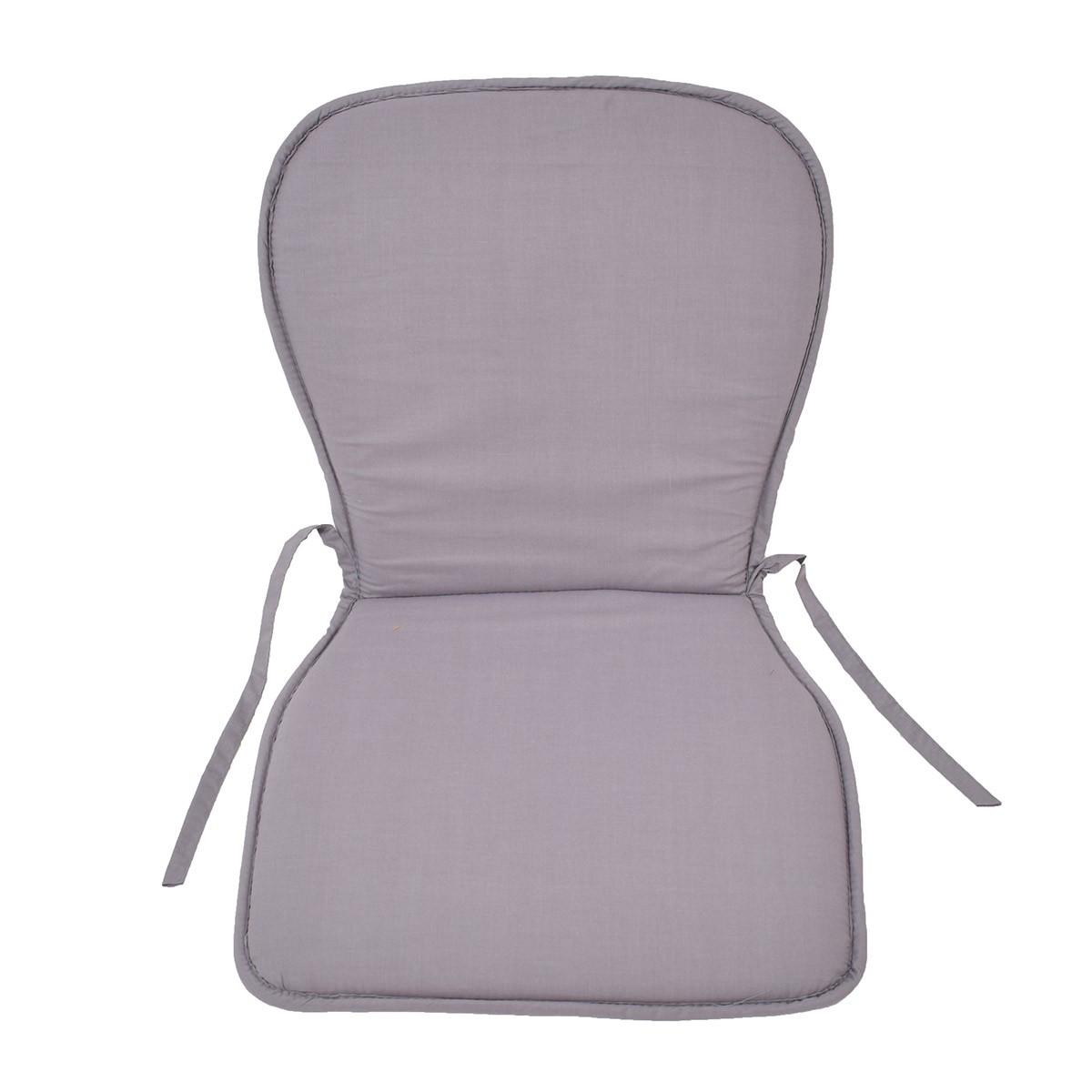 Μαξιλάρι Καρέκλας Κιθάρα Fratoni Solid Grey