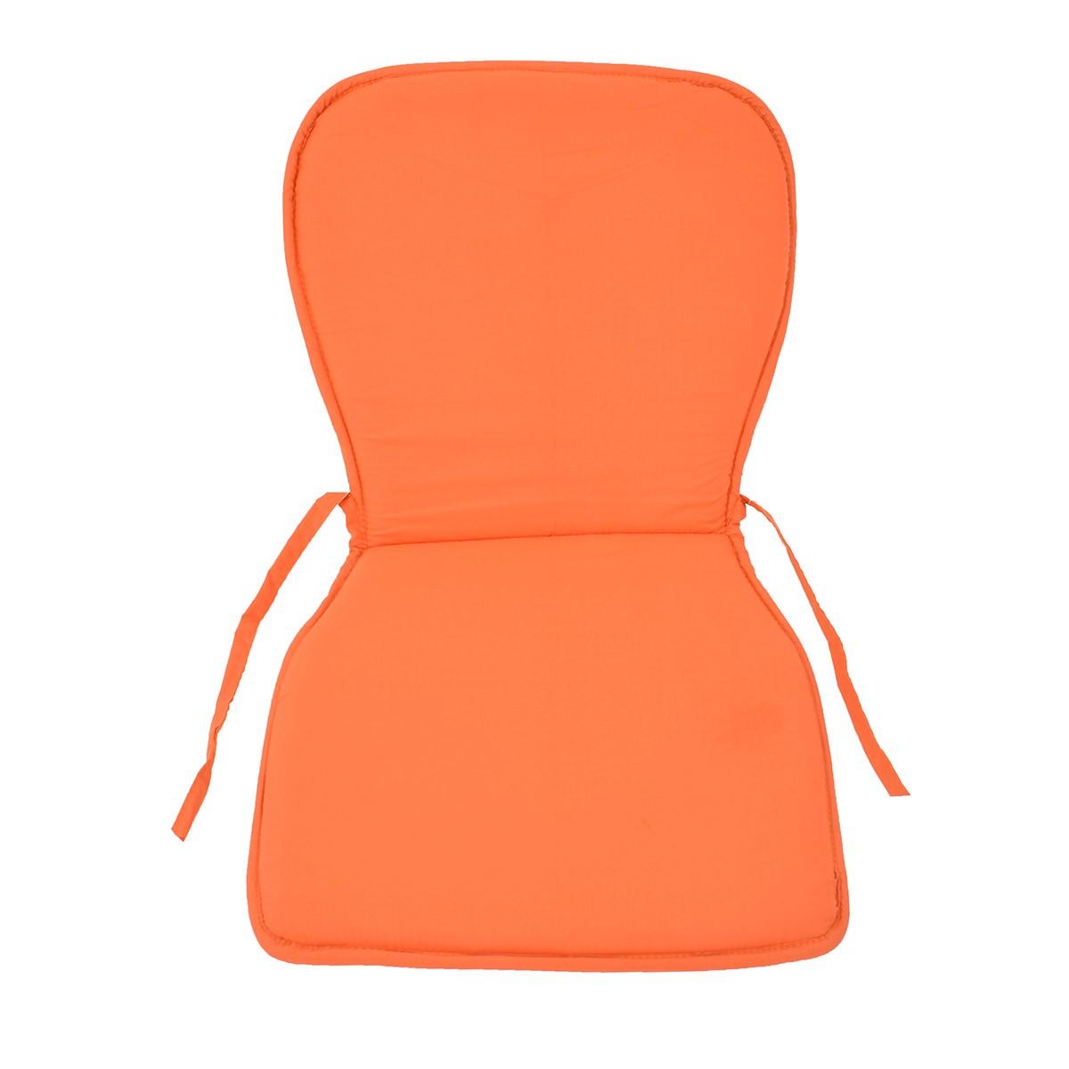 Μαξιλάρι Καρέκλας Κιθάρα Fratoni Solid Orange home   κουζίνα   τραπεζαρία   μαξιλάρια καρέκλας