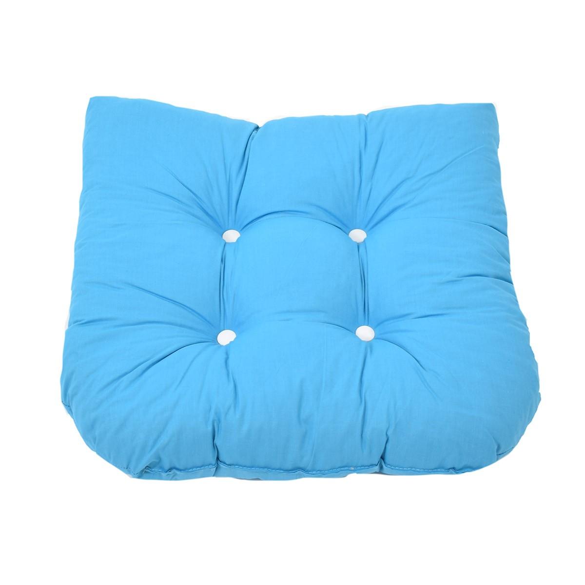 Μαξιλάρι Καρέκλας Bamboo Πέταλο Fratoni Solid Turquoise