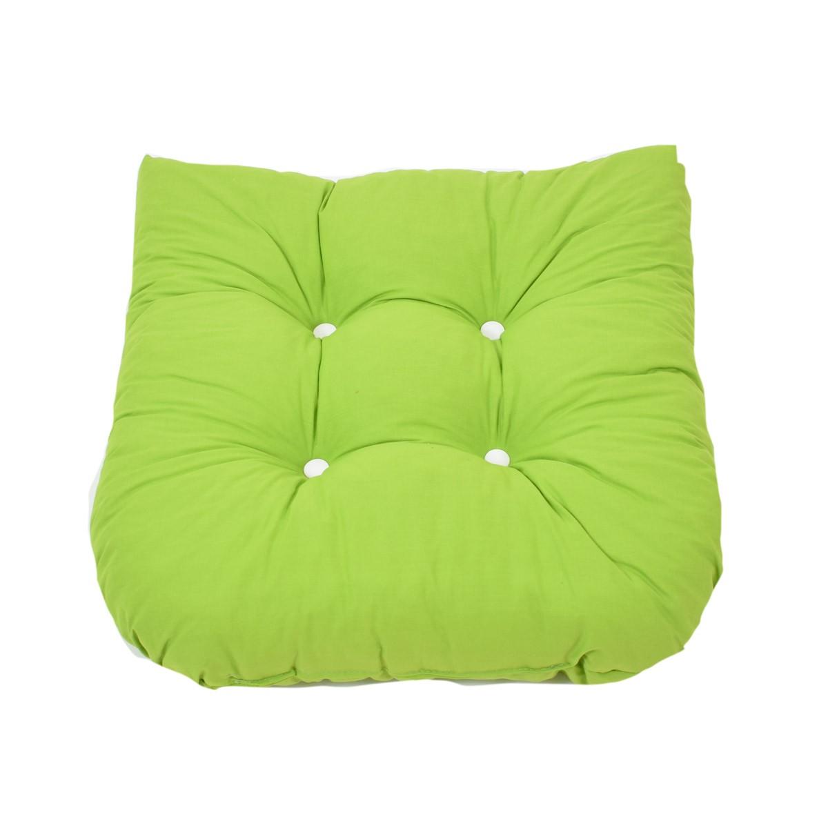 Μαξιλάρι Καρέκλας Bamboo Πέταλο Fratoni Solid Green