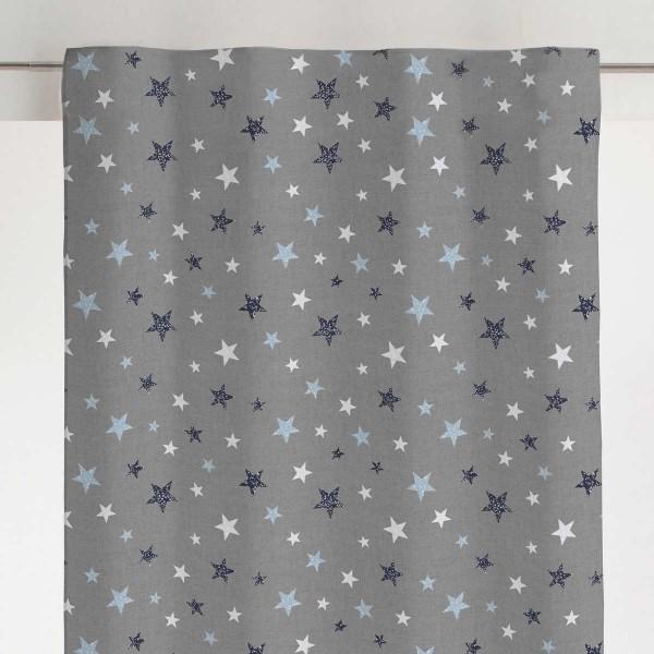 Παιδική Κουρτίνα (280x270) Με Τρέσα Viopros Σκάι Μπλε