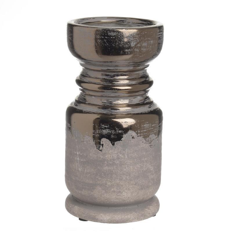 Κηροπήγιο InArt Ceramic Golden Small 3-70-663-0248