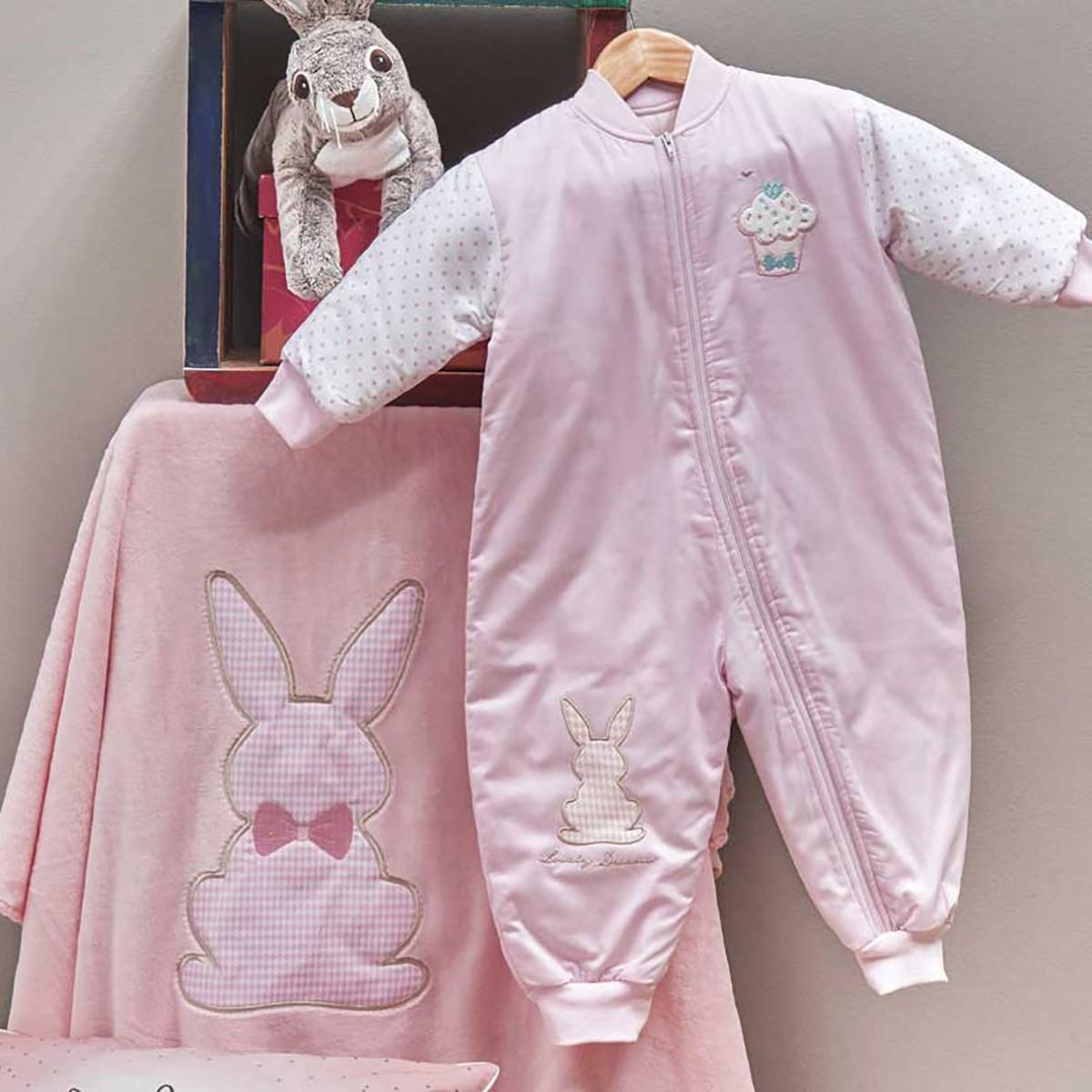 Υπνόσακος Με Μανίκια (80cm) Kentia Baby Rabbit 14