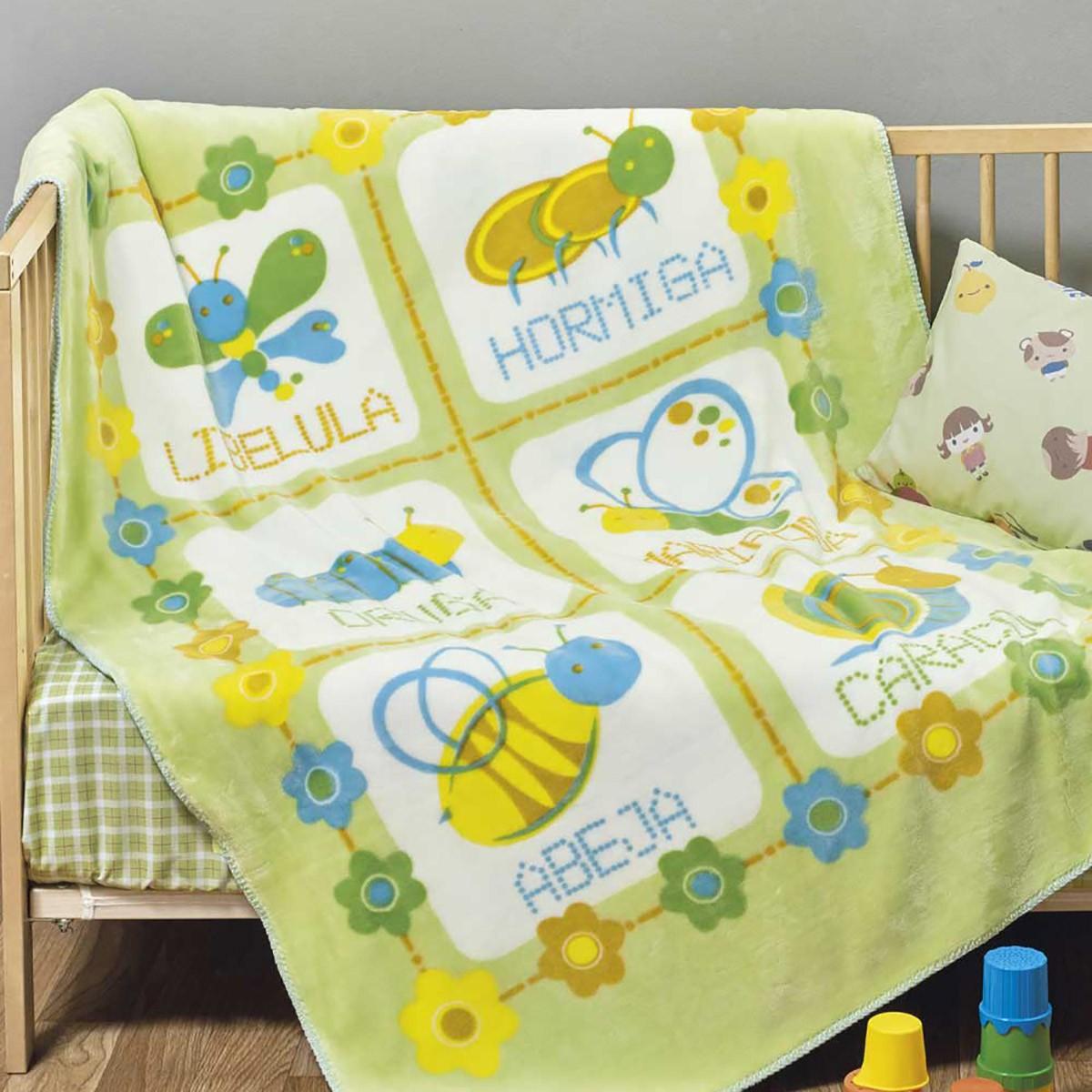 Κουβέρτα Βελουτέ Κούνιας Kentia Baby Maya