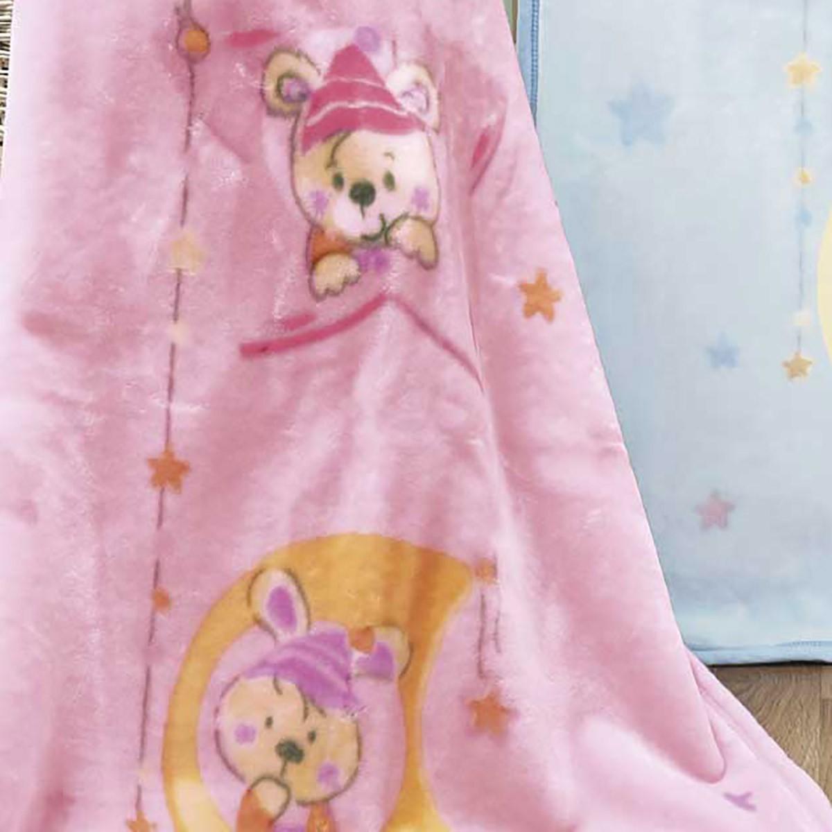 Κουβέρτα Βελουτέ Αγκαλιάς Kentia Baby Ron 14