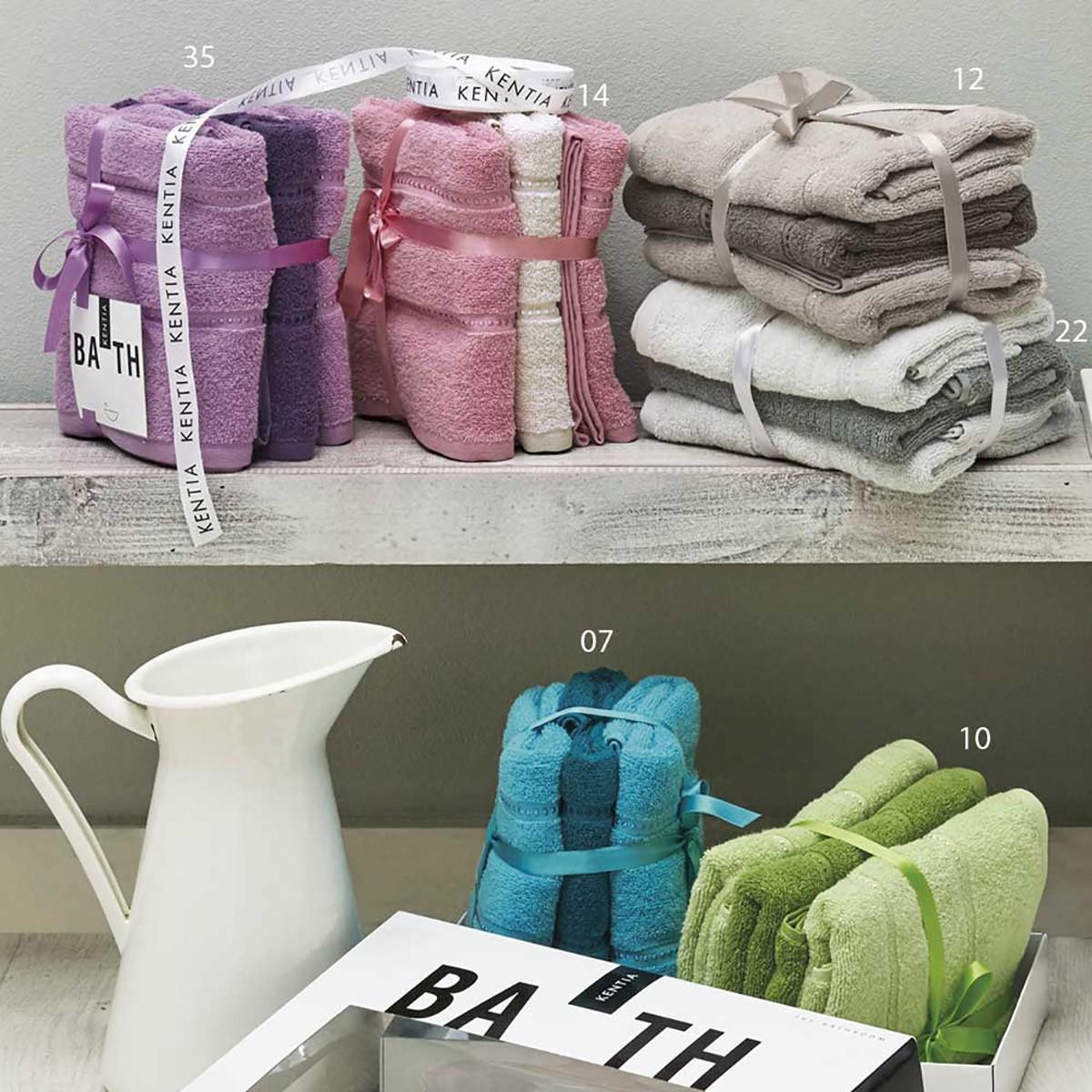 Πετσέτες Προσώπου (Σετ 3τμχ) Kentia Akira