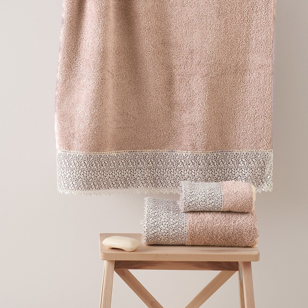 Πετσέτες Μπάνιου (Σετ 3τμχ) Kentia Modena 18
